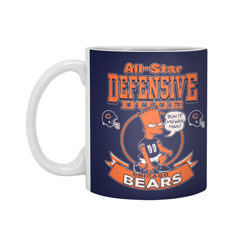 Chicago Defensive Dudes Accessories Standard Mug by jublin's Artist Shop