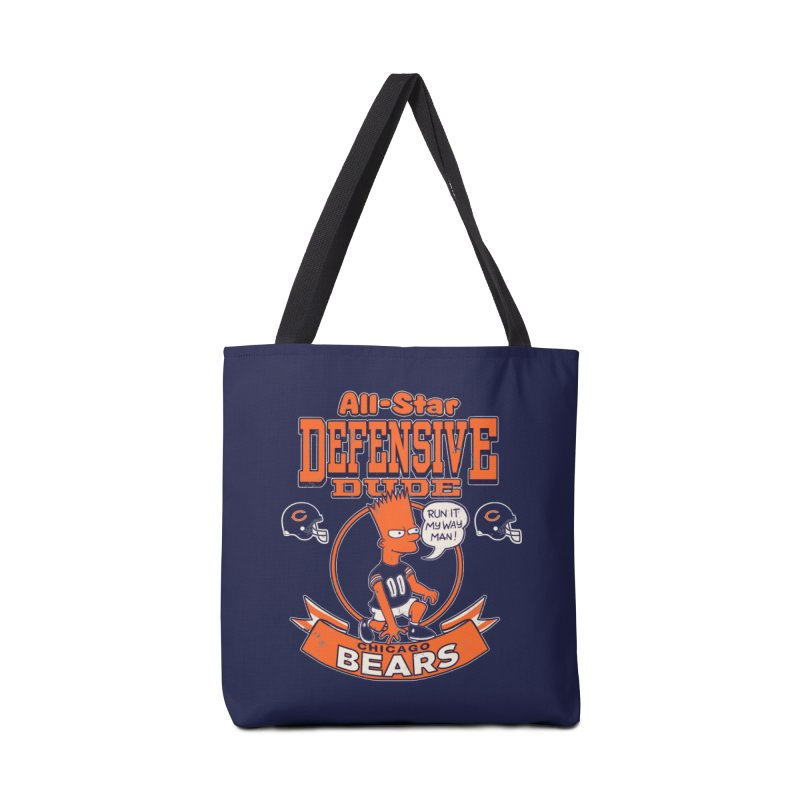 Chicago Defensive Dudes Accessories Tote Bag Bag by jublin's Artist Shop