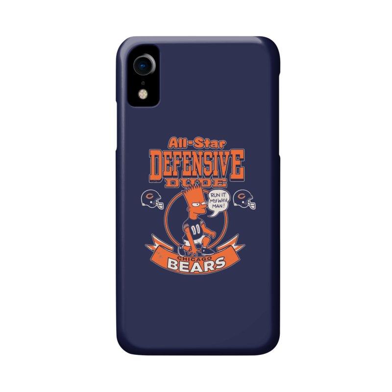 Chicago Defensive Dudes Accessories Phone Case by jublin's Artist Shop