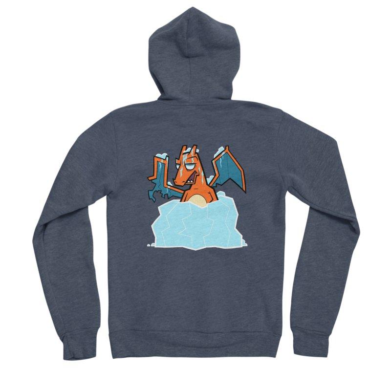 006 Men's Sponge Fleece Zip-Up Hoody by jublin's Artist Shop