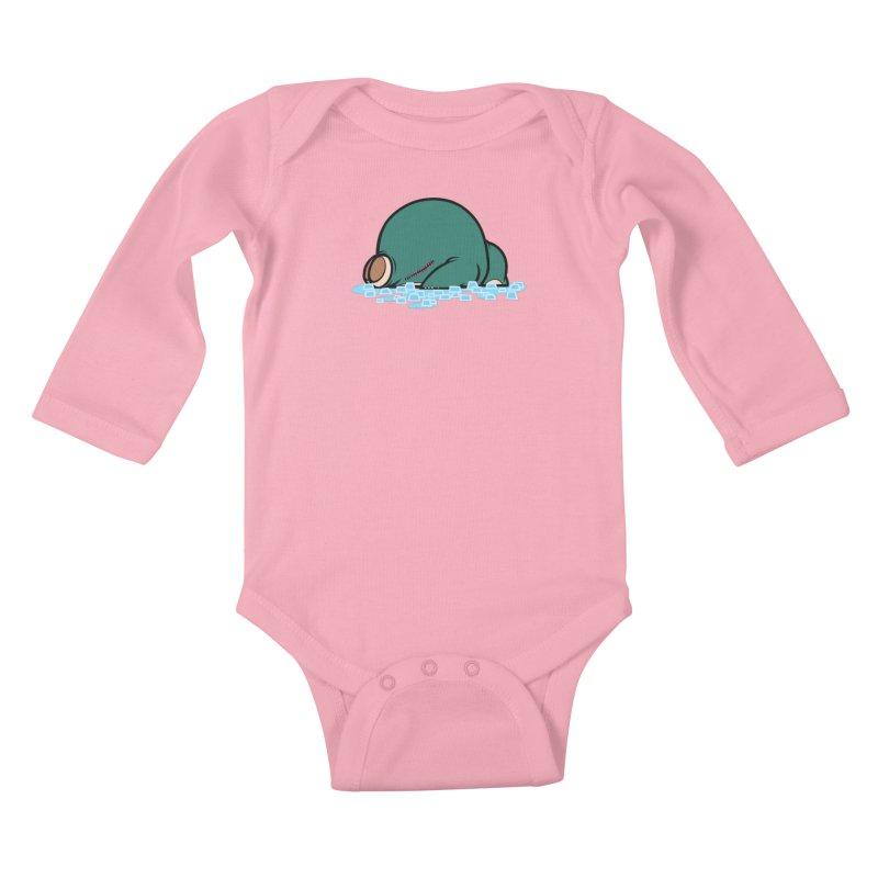 143 Kids Baby Longsleeve Bodysuit by jublin's Artist Shop