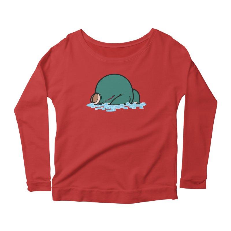 143 Women's Scoop Neck Longsleeve T-Shirt by jublin's Artist Shop
