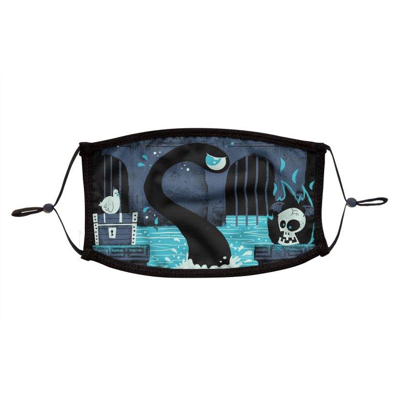 Templo de los Muertos Accessories Face Mask by jublin's Artist Shop