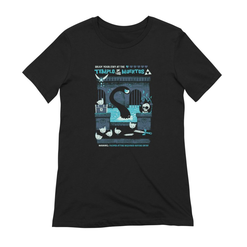 Templo de los Muertos Women's Extra Soft T-Shirt by jublin's Artist Shop