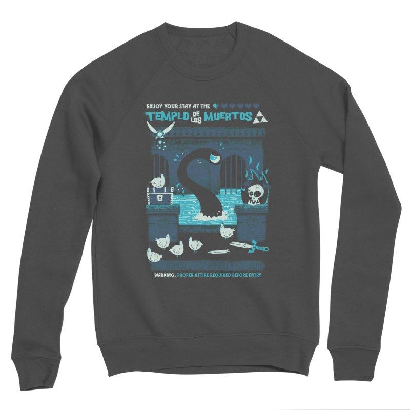 Templo de los Muertos Men's Sponge Fleece Sweatshirt by jublin's Artist Shop