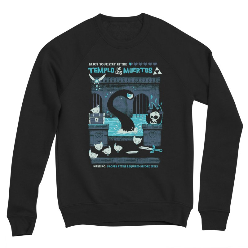 Templo de los Muertos Men's Sponge Fleece Sweatshirt by jublin's Artist Shop
