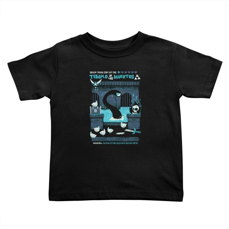 Templo de los Muertos Kids Toddler T-Shirt by jublin's Artist Shop