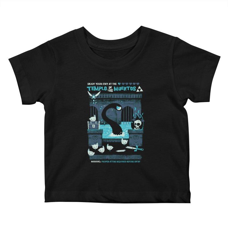Templo de los Muertos Kids Baby T-Shirt by jublin's Artist Shop