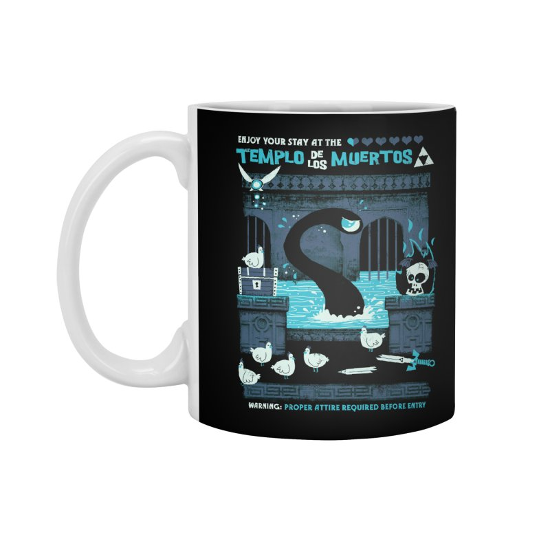 Templo de los Muertos Accessories Mug by jublin's Artist Shop