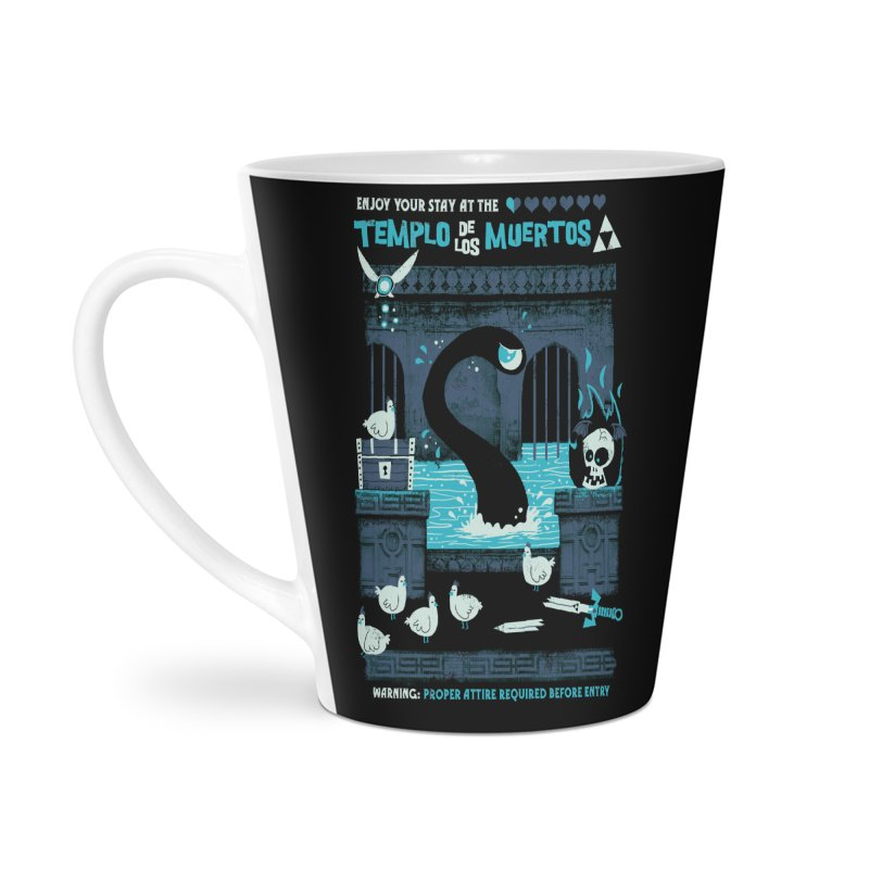 Templo de los Muertos Accessories Latte Mug by jublin's Artist Shop