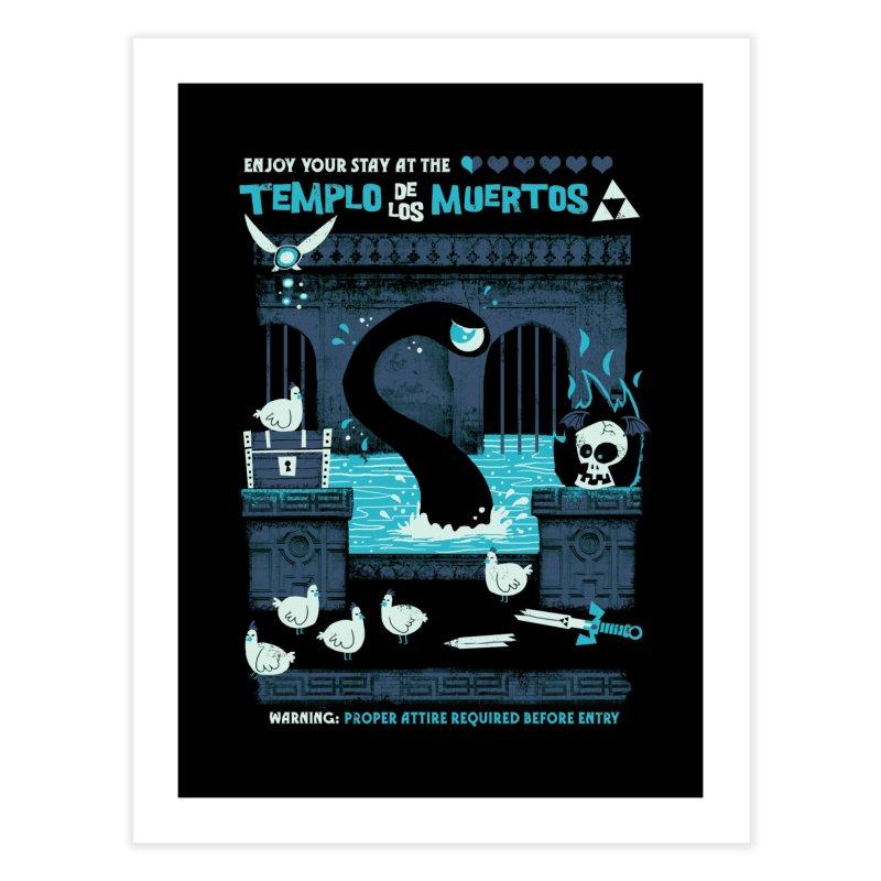 Templo de los Muertos Home Fine Art Print by jublin's Artist Shop