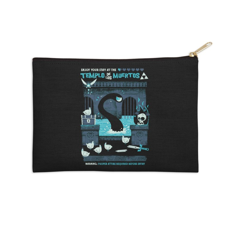 Templo de los Muertos Accessories Zip Pouch by jublin's Artist Shop