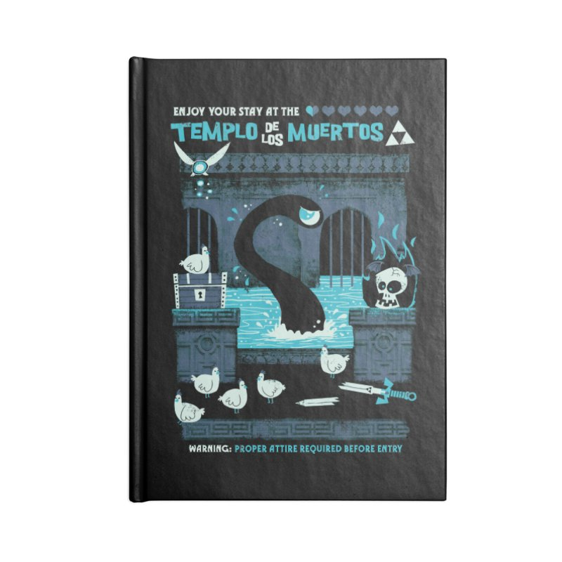 Templo de los Muertos Accessories Notebook by jublin's Artist Shop