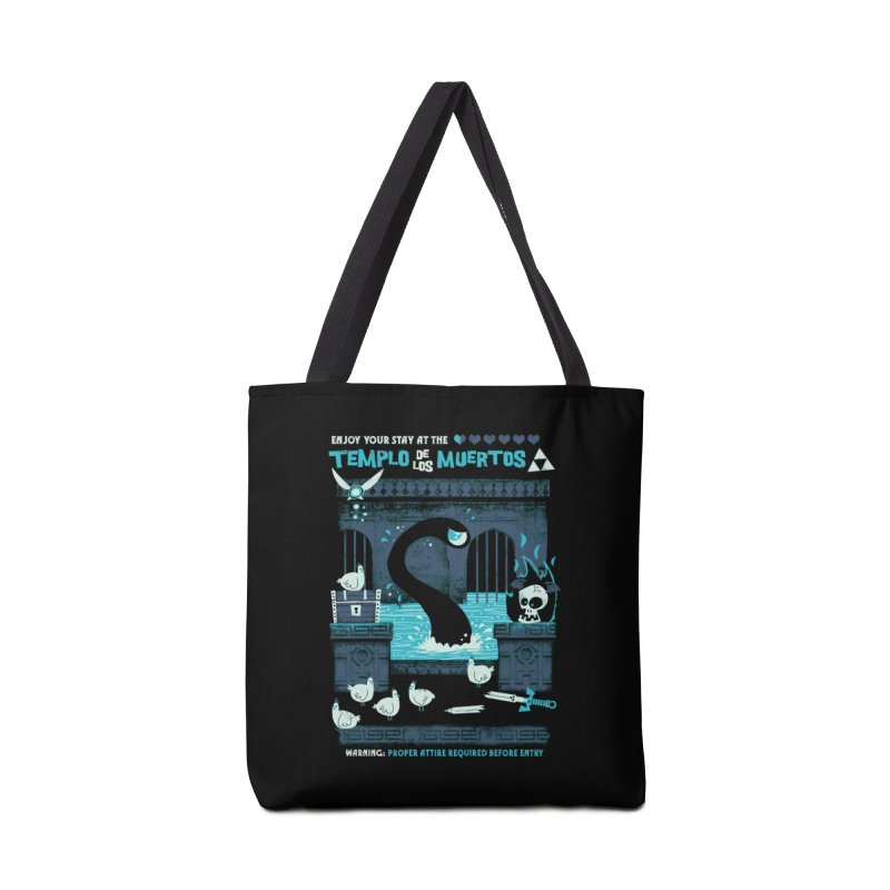 Templo de los Muertos Accessories Tote Bag Bag by jublin's Artist Shop