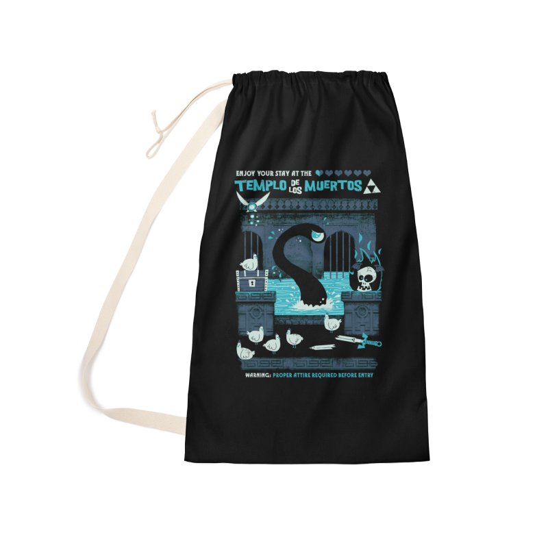 Templo de los Muertos Accessories Laundry Bag Bag by jublin's Artist Shop