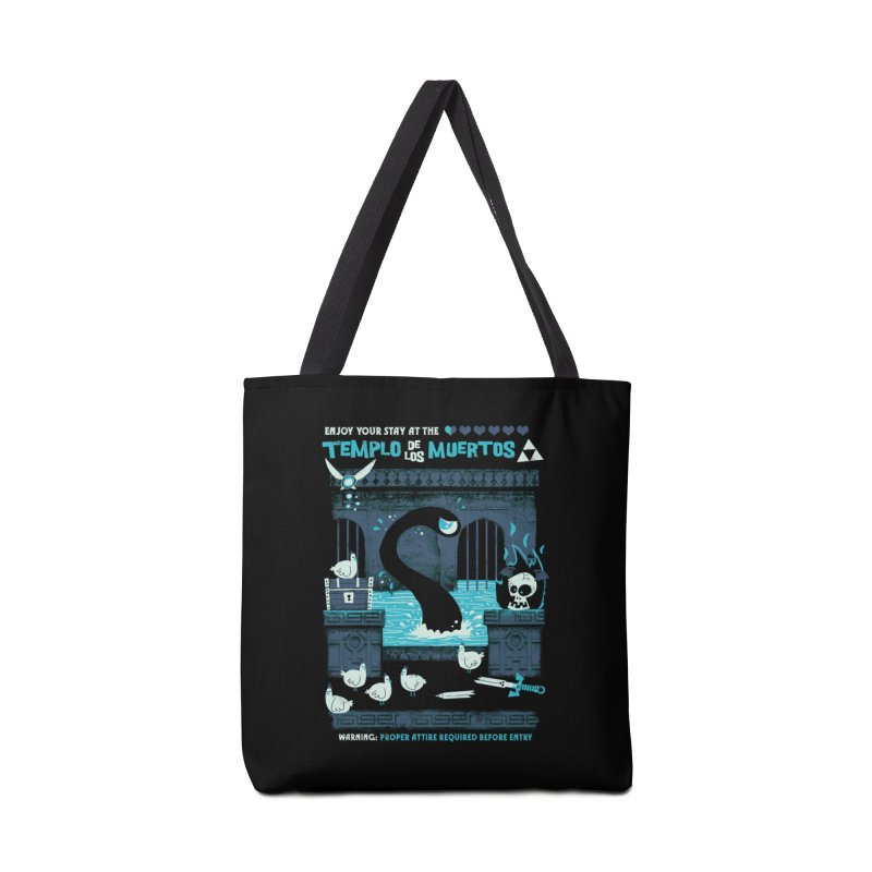 Templo de los Muertos Accessories Bag by jublin's Artist Shop