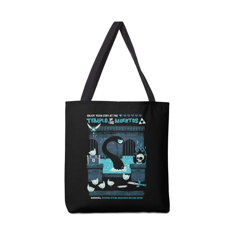 Templo de los Muertos Accessories Bag by jublin's Artist Shop