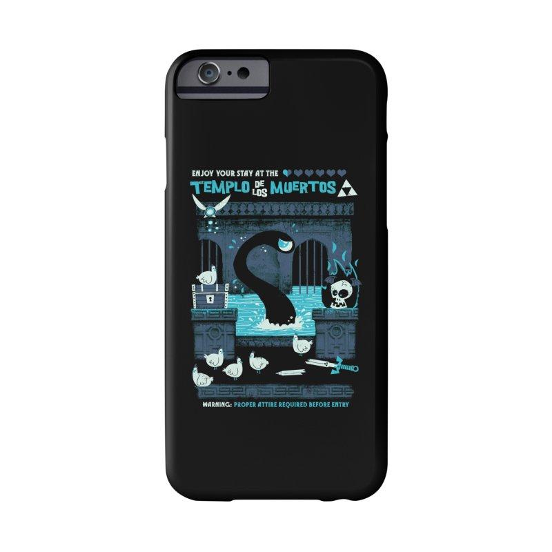 Templo de los Muertos Accessories Phone Case by jublin's Artist Shop