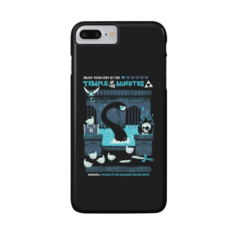 Templo de los Muertos Accessories Phone Case by jublin's Artist Shop