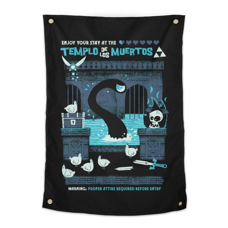 Templo de los Muertos Home Tapestry by jublin's Artist Shop