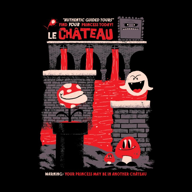 Le Chateau Women's T-Shirt by jublin's Artist Shop