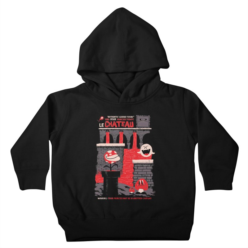 Le Chateau Kids Toddler Pullover Hoody by jublin's Artist Shop