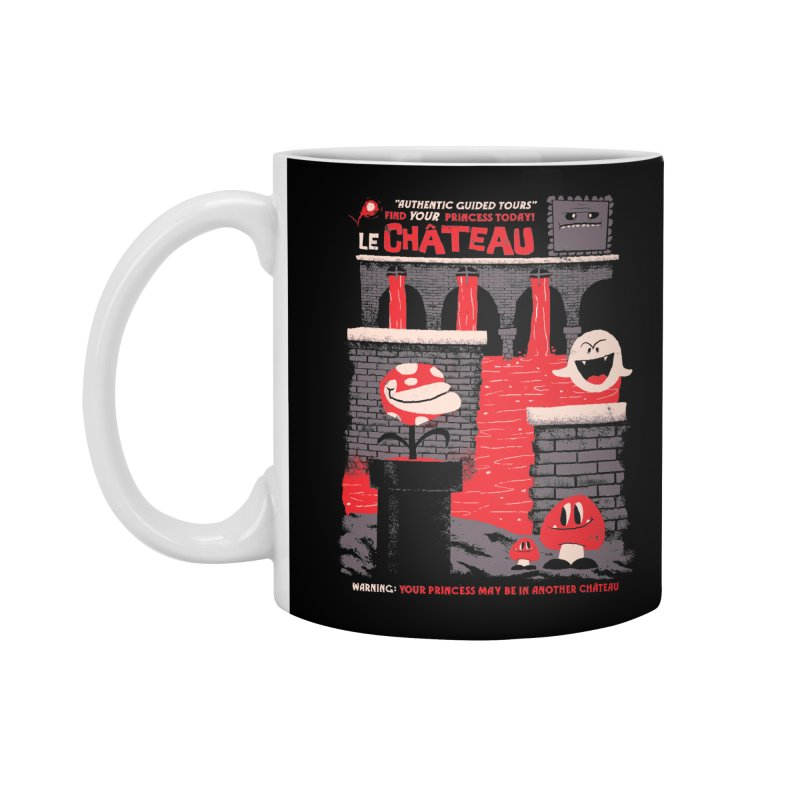 Le Chateau Accessories Standard Mug by jublin's Artist Shop