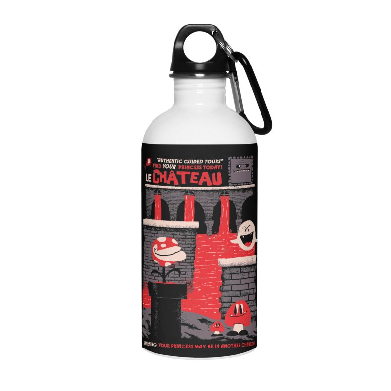 Le Chateau Accessories Water Bottle by jublin's Artist Shop