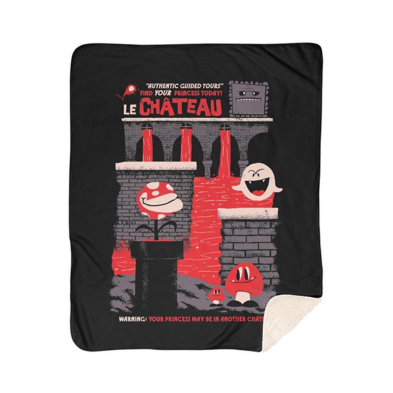 Le Chateau Home Sherpa Blanket Blanket by jublin's Artist Shop