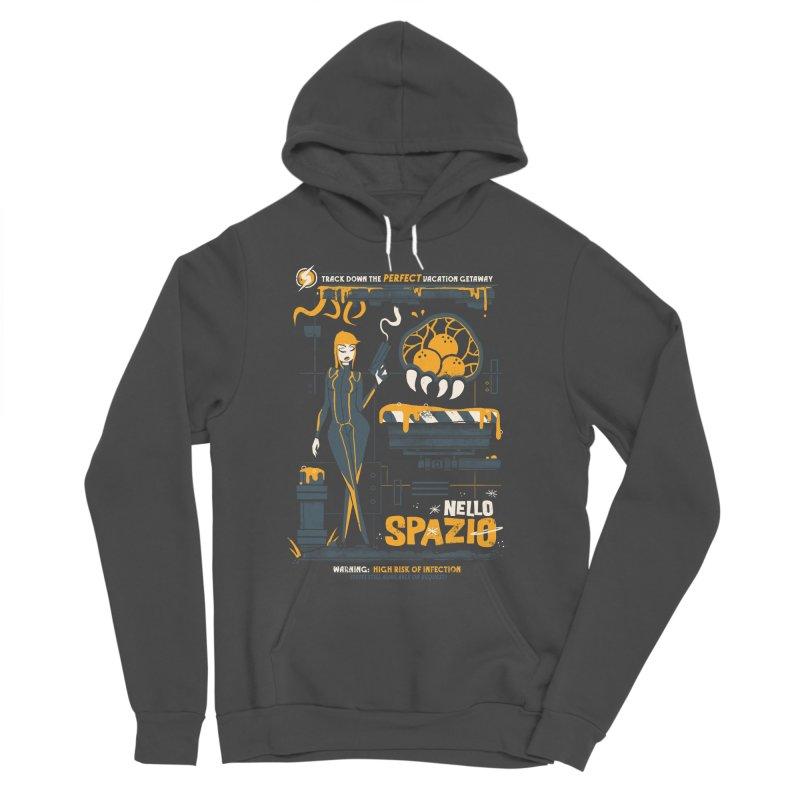 Nello Spazio Men's Sponge Fleece Pullover Hoody by jublin's Artist Shop