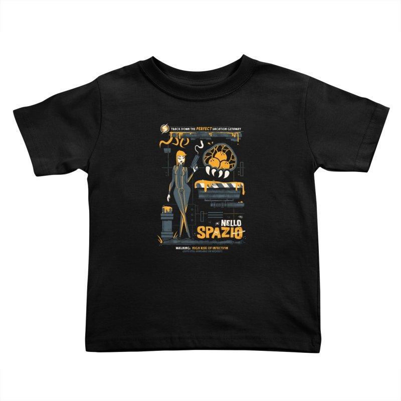 Nello Spazio Kids Toddler T-Shirt by jublin's Artist Shop
