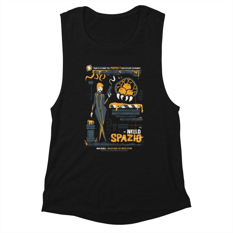 Nello Spazio Women's Muscle Tank by jublin's Artist Shop