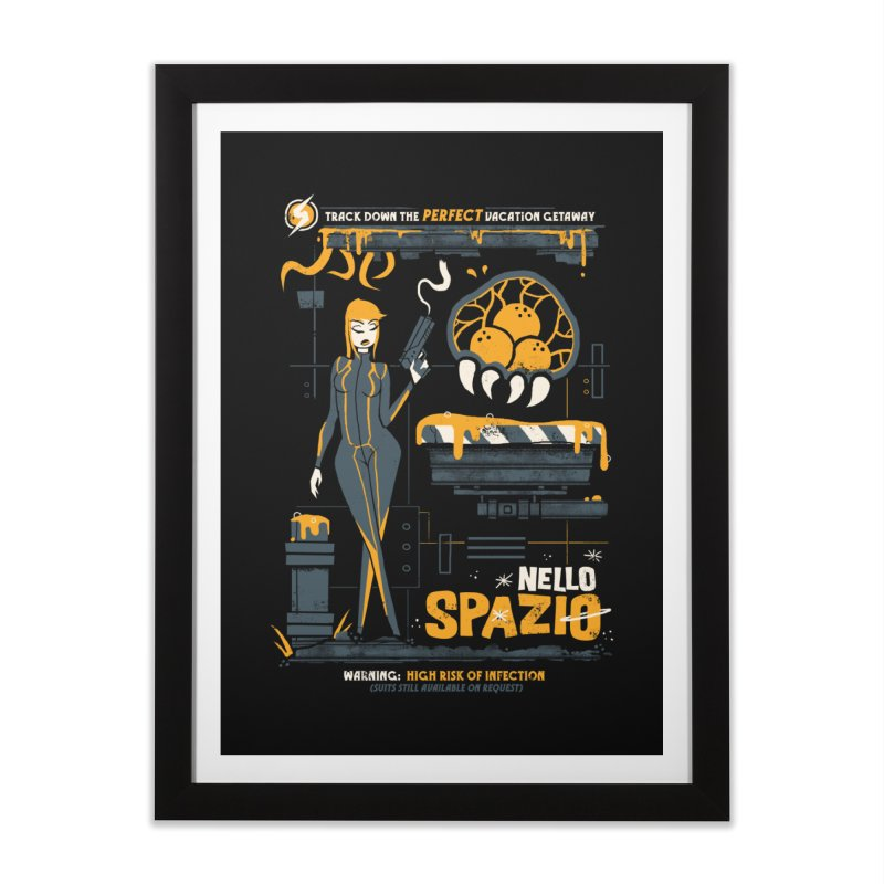 Nello Spazio Home Framed Fine Art Print by jublin's Artist Shop
