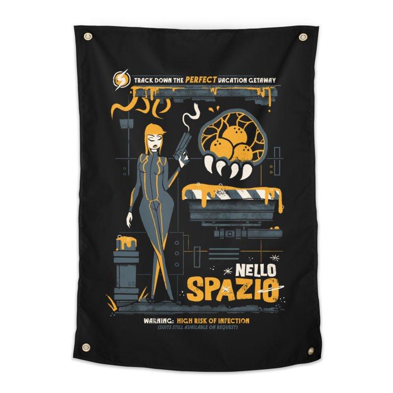 Nello Spazio Home Tapestry by jublin's Artist Shop