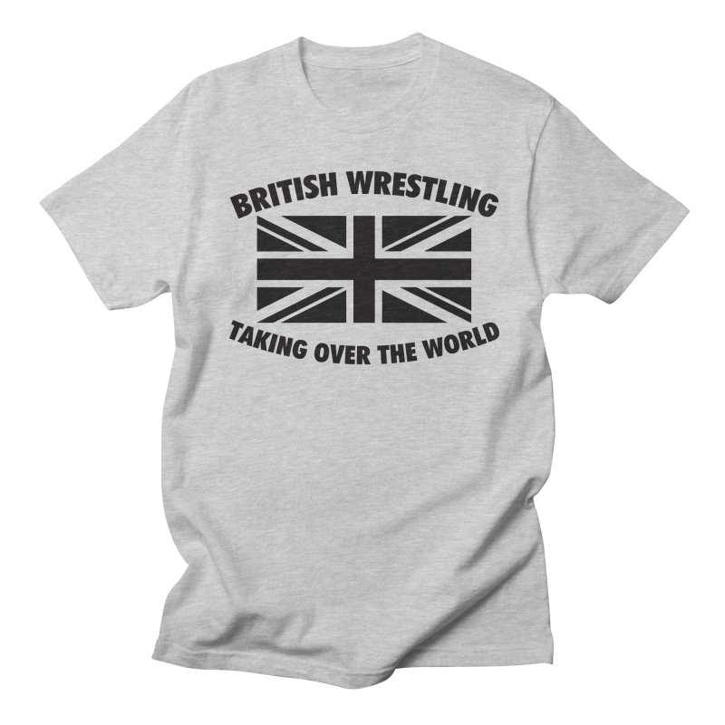 British Wrestling, Taking Over The World Men's T-Shirt by Judders Designs