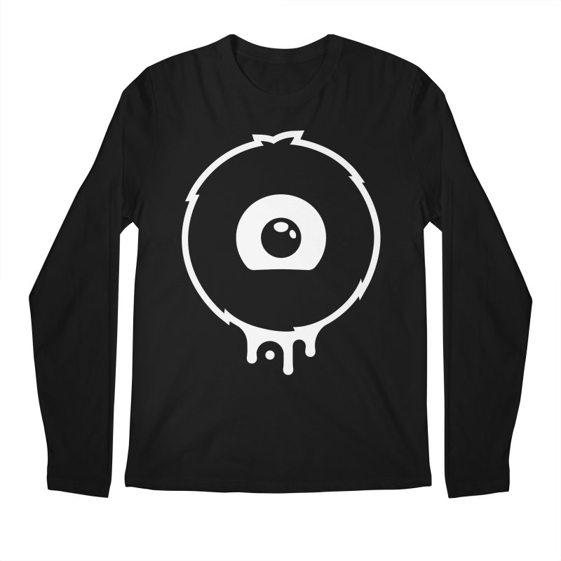 Juicy Beast Logo (B&W) Men's Regular Longsleeve T-Shirt by The Juicy Beast shop!