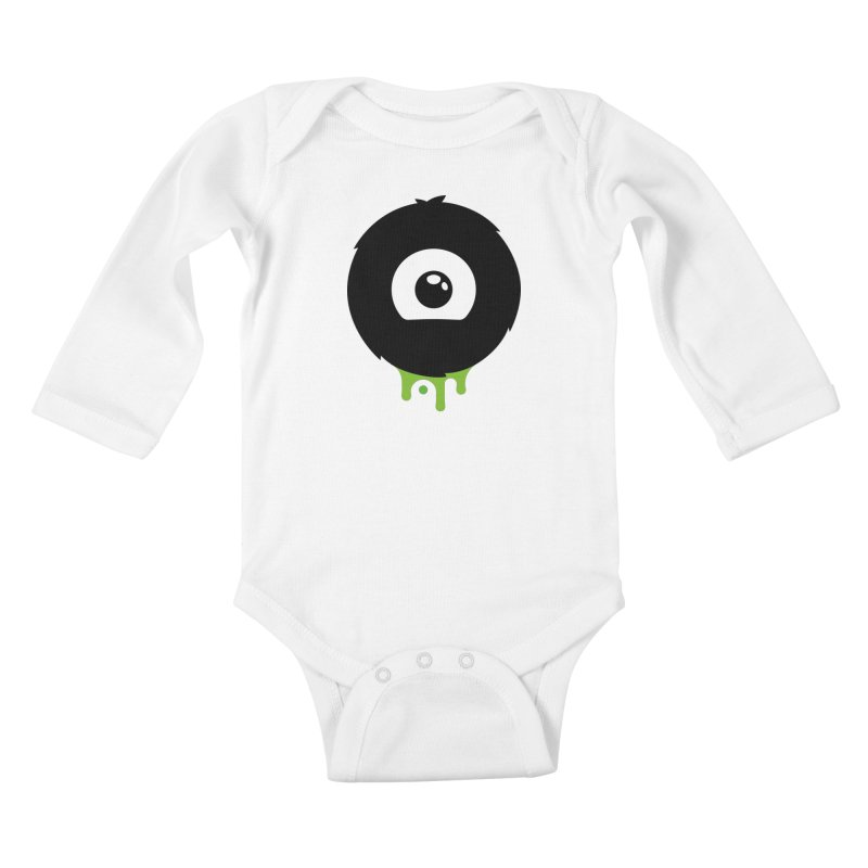 Juicy Beast Logo Kids Baby Longsleeve Bodysuit by The Juicy Beast shop!