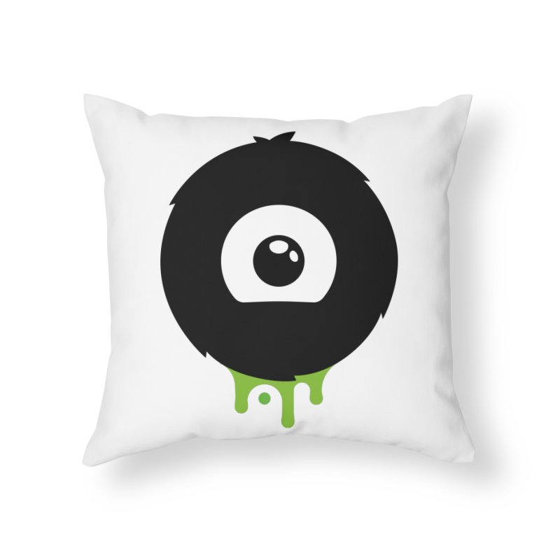 Juicy Beast Logo Home Throw Pillow by The Juicy Beast shop!