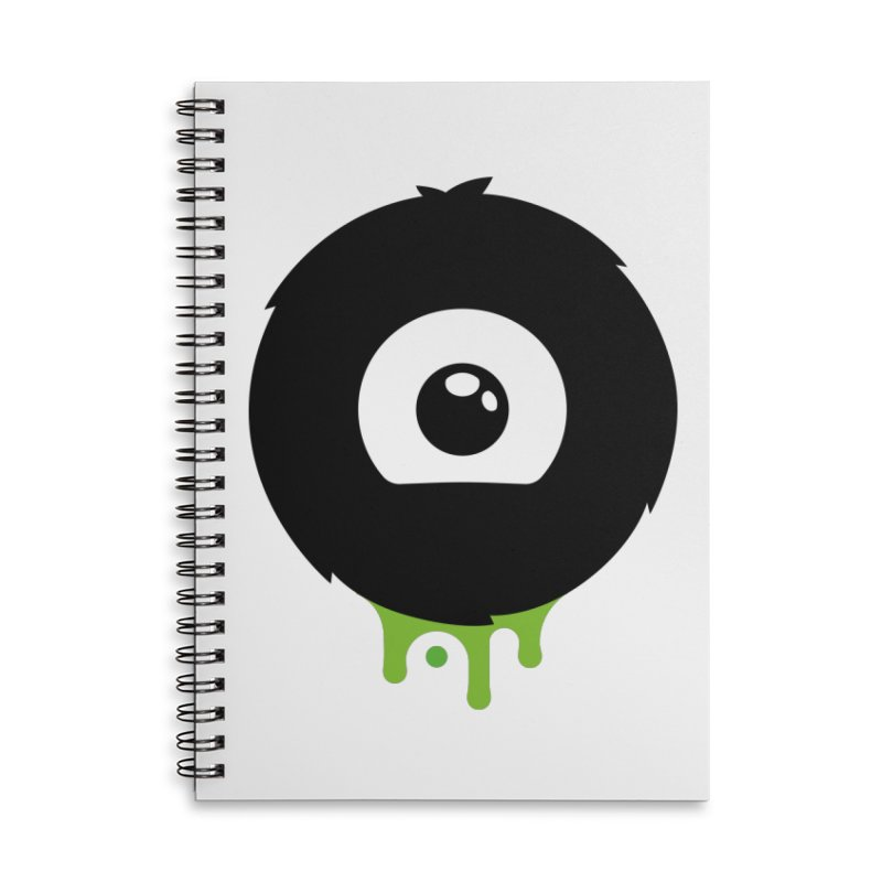 Juicy Beast Logo Accessories Lined Spiral Notebook by The Juicy Beast shop!
