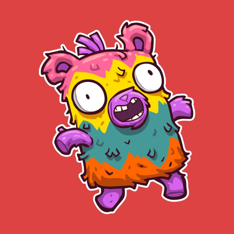 Burrito Bison - Punched Piñata by The Juicy Beast shop!