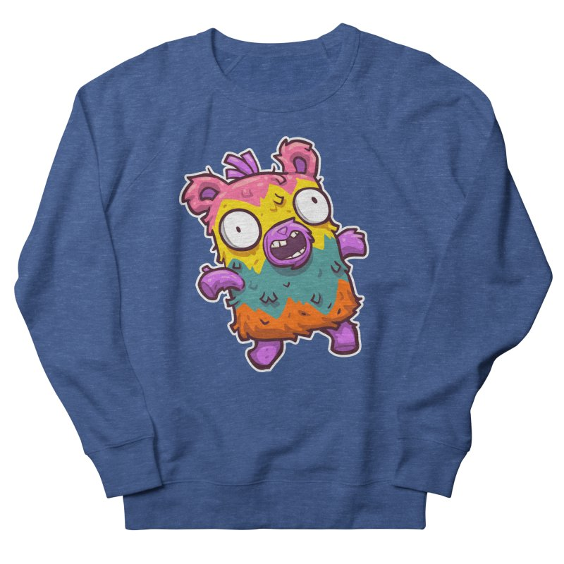 Burrito Bison - Punched Piñata Men's Sweatshirt by The Juicy Beast shop!