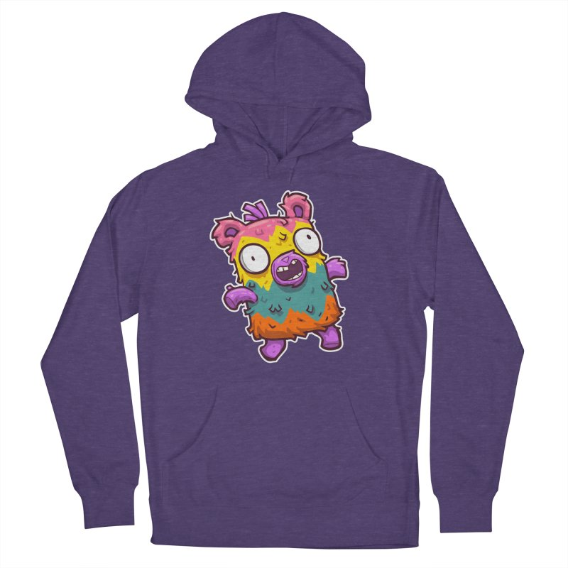 Burrito Bison - Punched Piñata Men's French Terry Pullover Hoody by The Juicy Beast shop!