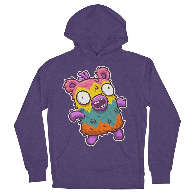 Burrito Bison - Punched Piñata Women's French Terry Pullover Hoody by The Juicy Beast shop!
