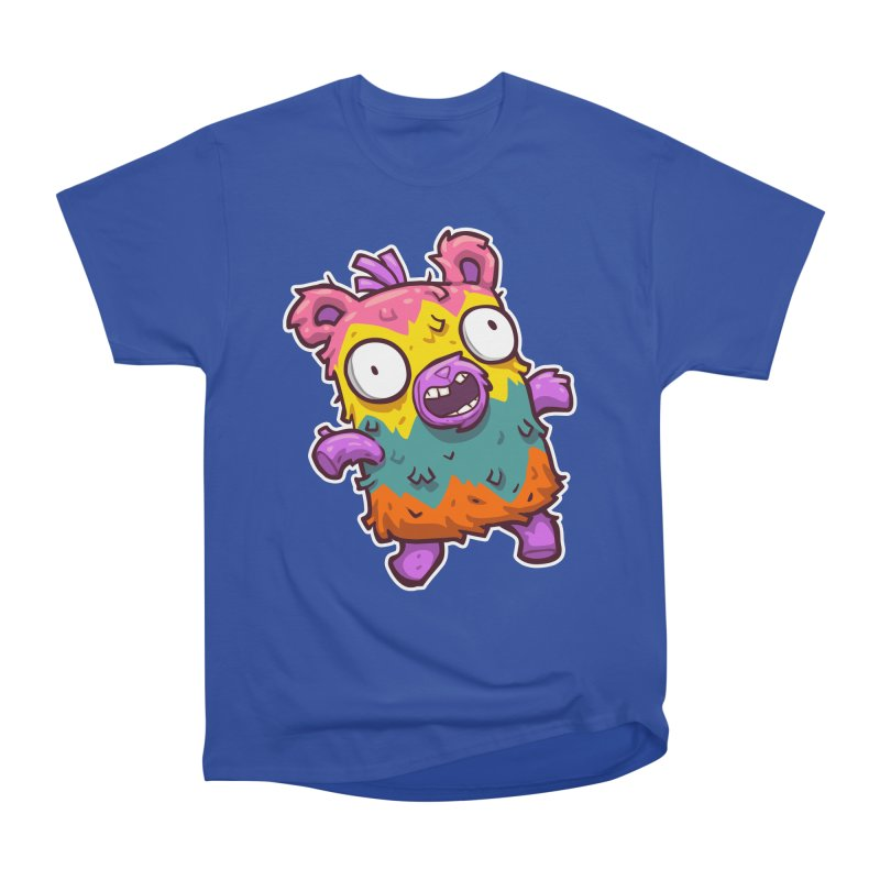 Burrito Bison - Punched Piñata Men's Heavyweight T-Shirt by The Juicy Beast shop!