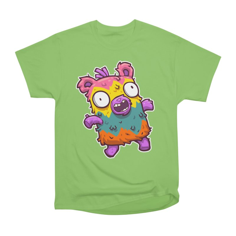 Burrito Bison - Punched Piñata Women's Heavyweight Unisex T-Shirt by The Juicy Beast shop!
