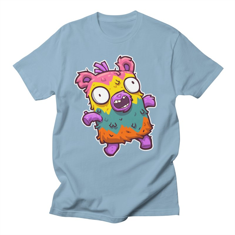 Burrito Bison - Punched Piñata Women's Regular Unisex T-Shirt by The Juicy Beast shop!