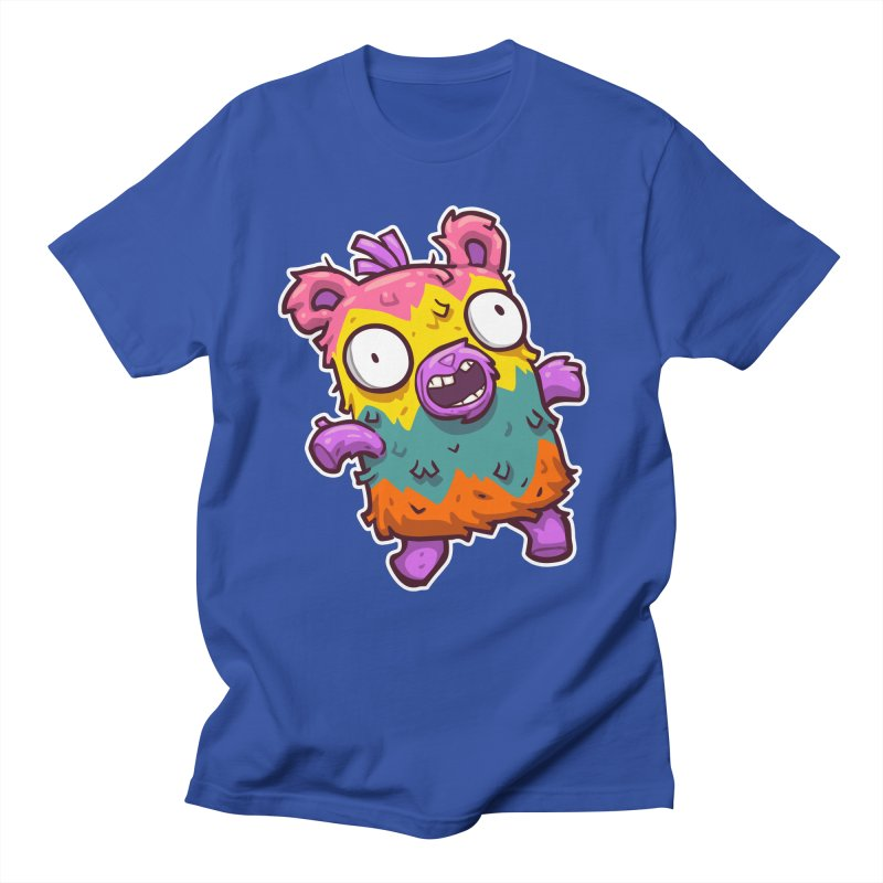 Burrito Bison - Punched Piñata Men's Regular T-Shirt by The Juicy Beast shop!