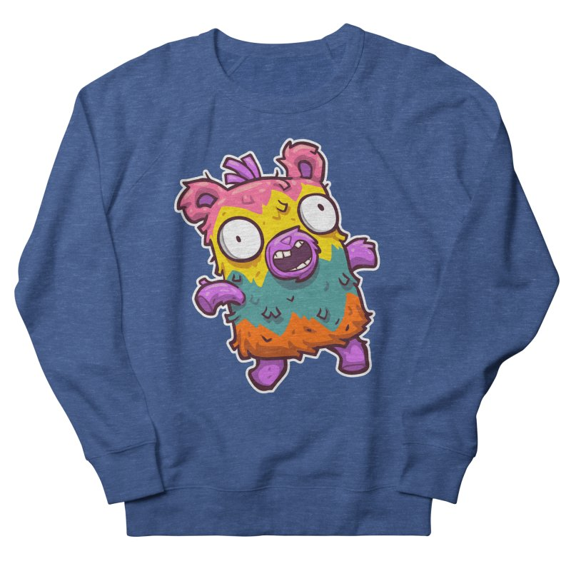 Burrito Bison - Punched Piñata Men's French Terry Sweatshirt by The Juicy Beast shop!