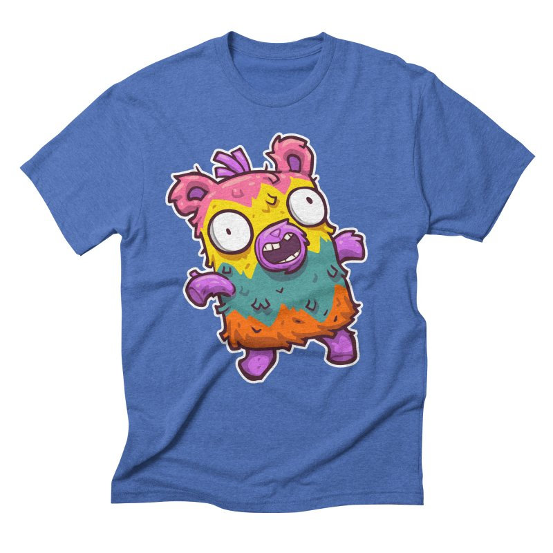 Burrito Bison - Punched Piñata Men's T-Shirt by The Juicy Beast shop!