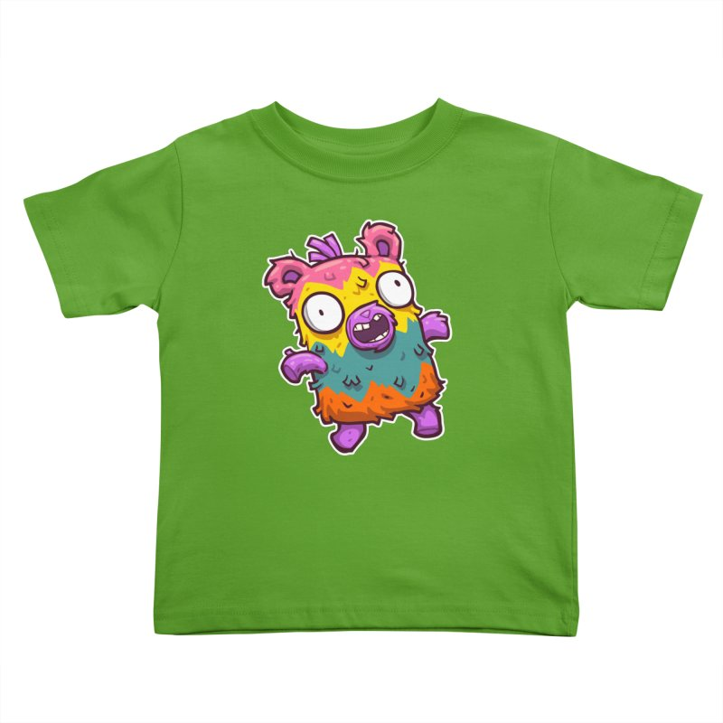 Burrito Bison - Punched Piñata Kids Toddler T-Shirt by The Juicy Beast shop!